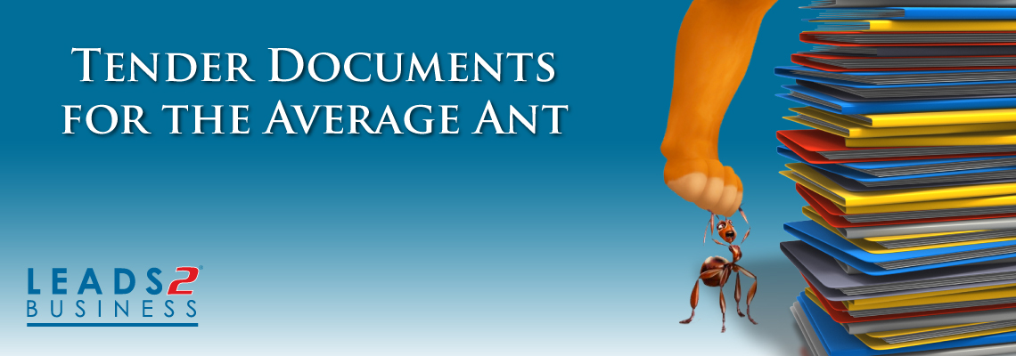 Tender Documents to Help the Average Ant