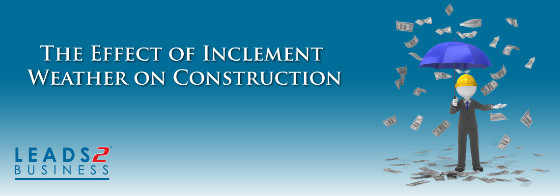 The Effect of Inclement Weather on Construction