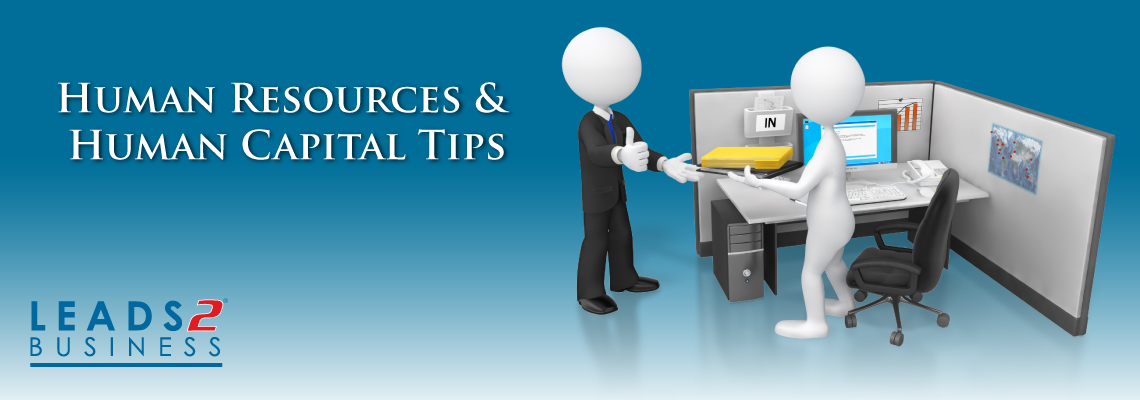 Human Resources & Human Capital Tips