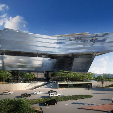 Featured Project : New Head Office for Sasol – Building
