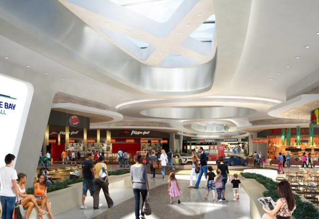 This is an artist impression of the proposed Food Court.