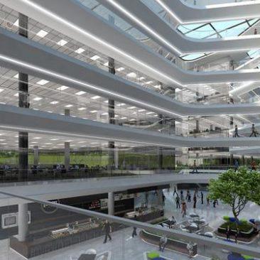 Featured Project: Deloitte Waterfall – Building