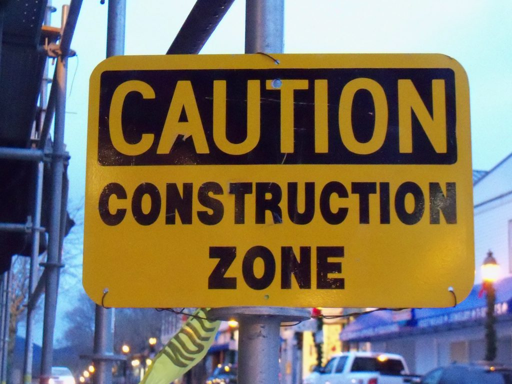 Caution Construction Zone