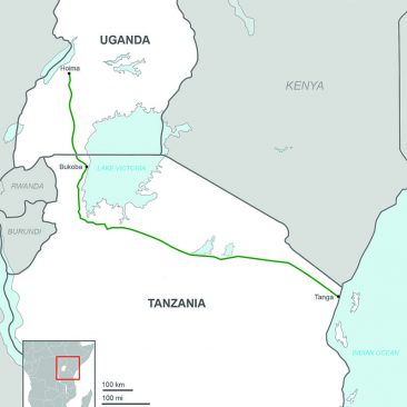Featured Project: Crude Oil Pipeline, Uganda / Tanzania
