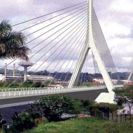 Artist's impression of new Jinja Bridge