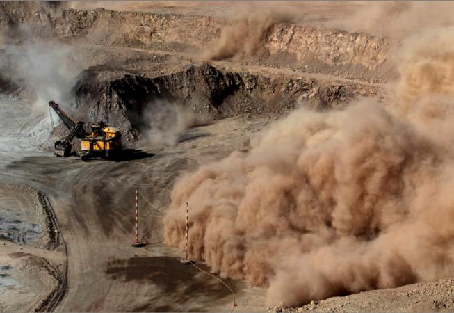 This is the Prieska Zinc Copper Project Construction site.