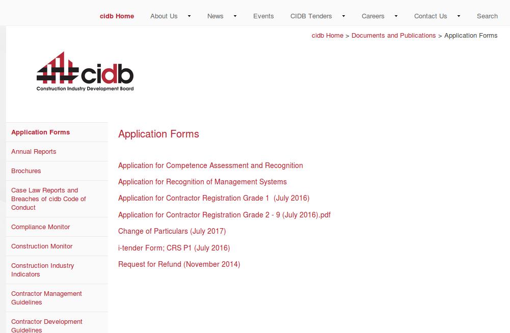 L2B Blog: CIDB Grading (How it works) - Leads 2 Business Blog
