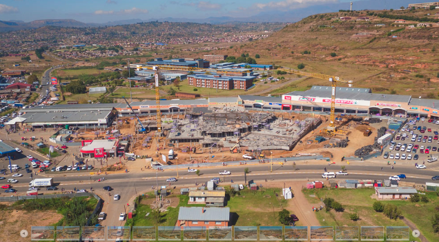Maluti Crescent Redevelopment - Building